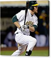 Brandon Moss and Josh Donaldson Canvas Print