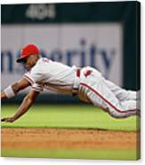 Brett Myers and Jimmy Rollins Canvas Print