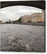 Bridge across the Fontanka River Canvas Print