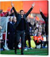 Bristol City v Coventry City - Sky Bet League One Canvas Print