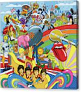 British Invasion 64 Canvas Print