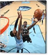 Brooklyn Nets v Memphis Grizzlies Canvas Print