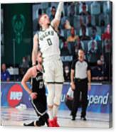 Brooklyn Nets v Milwaukee Bucks Canvas Print
