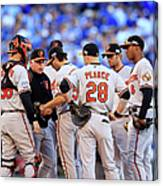 Buck Showalter Canvas Print