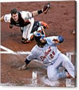 Buster Posey and Prince Fielder Canvas Print