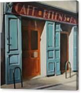 cafe Belen Canvas Print