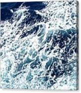Caribbean Waves Canvas Print