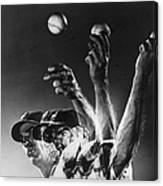 Carl Hubbell Canvas Print