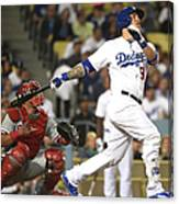 Carlos Ruiz and Yasmani Grandal Canvas Print