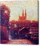 Cathedral Sunrise Canvas Print