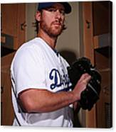 Chad Billingsley Canvas Print