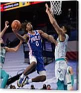 Charlotte Hornets v Philadelphia 76ers Canvas Print