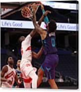 Charlotte Hornets v Toronto Raptors Canvas Print