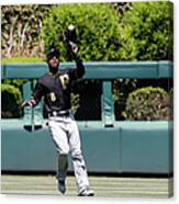Chase Utley and Starling Marte Canvas Print