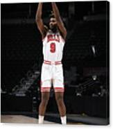 Chicago Bulls v Denver Nuggets Canvas Print