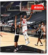 Chicago Bulls v LA Clippers Canvas Print