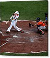 Chris Davis and Jason Castro Canvas Print