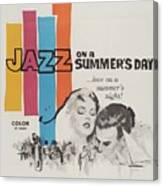 Classic Movie Poster - Jazz On A Summers Day Canvas Print