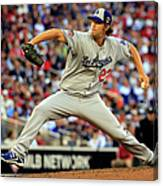 Clayton Kershaw Canvas Print