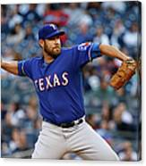 Colby Lewis Canvas Print