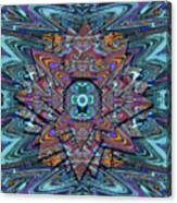 Cosmic Compass Canvas Print