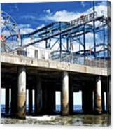 Crazy Mouse on the Steel Pier in Atlantic City Canvas Print