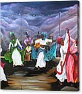 Dance The Pique Canvas Print
