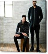 D'angelo Russell and Brandon Ingram Canvas Print