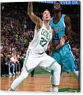 Daniel Theis and Mangok Mathiang Canvas Print