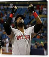 David Ortiz and Matt Moore Canvas Print