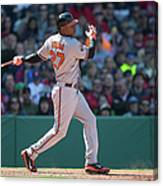 Delmon Young Canvas Print