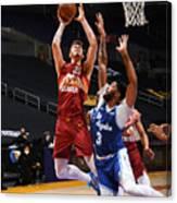 Denver Nuggets v Los Angeles Lakers Canvas Print