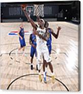 Denver Nuggets v New Orleans Pelicans Canvas Print