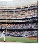Derek Jeter and Curtis Granderson Canvas Print