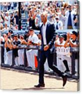 Derek Jeter and Jorge Posada Canvas Print