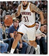 Deron Williams Canvas Print