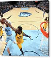 Dillon Brooks and Jeff Green Canvas Print