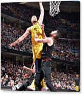 Domantas Sabonis Canvas Print