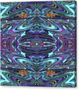 Dragon Eye Mecha Canvas Print
