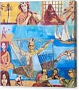 Dream of fisherman Canvas Print