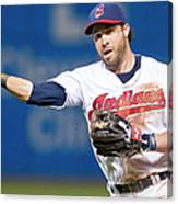 Dustin Pedroia and Jason Kipnis Canvas Print