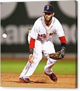 Dustin Pedroia Canvas Print