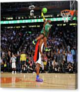 Dwight Howard and Nate Robinson Canvas Print