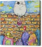 Easter Humpty Canvas Print
