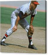 Eddie Mathews Canvas Print