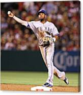 Elvis Andrus and Grant Green Canvas Print