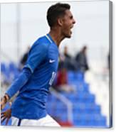 England  U17 v Brazil U17 - International Friendly Canvas Print