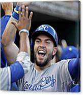 Eric Hosmer and Billy Butler Canvas Print