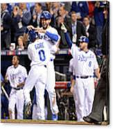 Eric Hosmer And Terrance Gore Canvas Print
