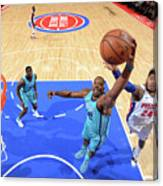 Eric Moreland and Dwight Howard Canvas Print